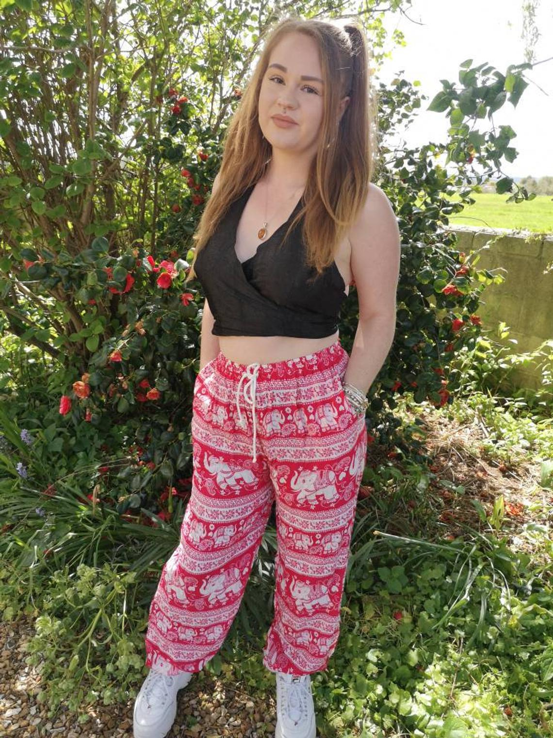 Elephant Trousers Pink