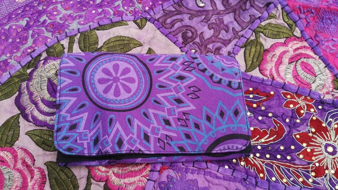 Mandala Purse Purple