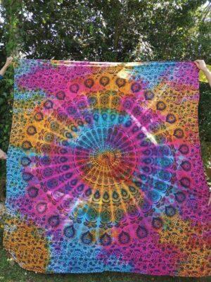 Mandala Rainbow Throw