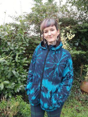 Tie Dye Jacket Blue