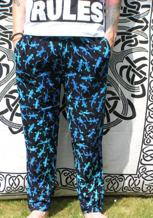 Gecko Trousers Blue