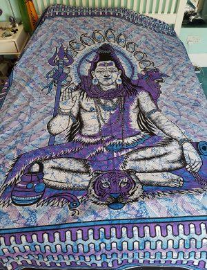 Shiva Throw Purple