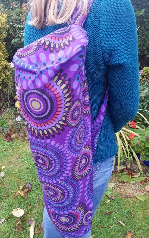 Yoga Bag Mandala Purple