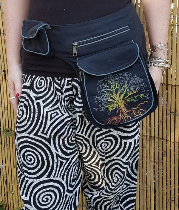 Tree of Life Bumbag Black