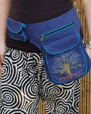 Tree of Life Bumbag Blue