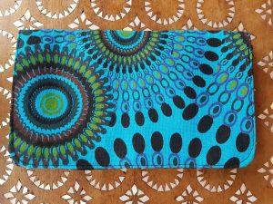 Mandala Purse Dark Blue