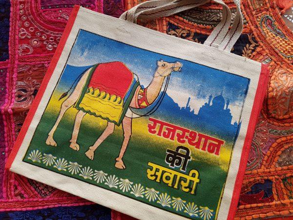 Indian Canvas Bag Camel