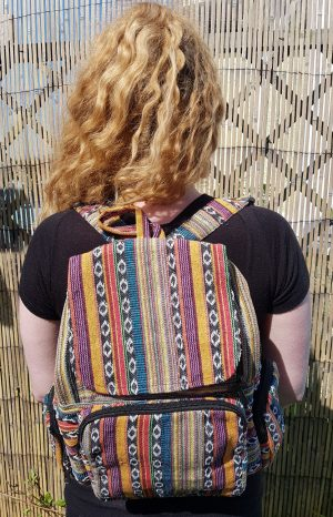Stripe Rainbow Rucksack