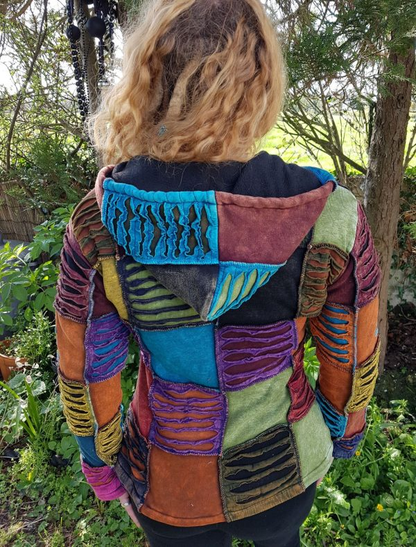 Patchwork Slash Jacket