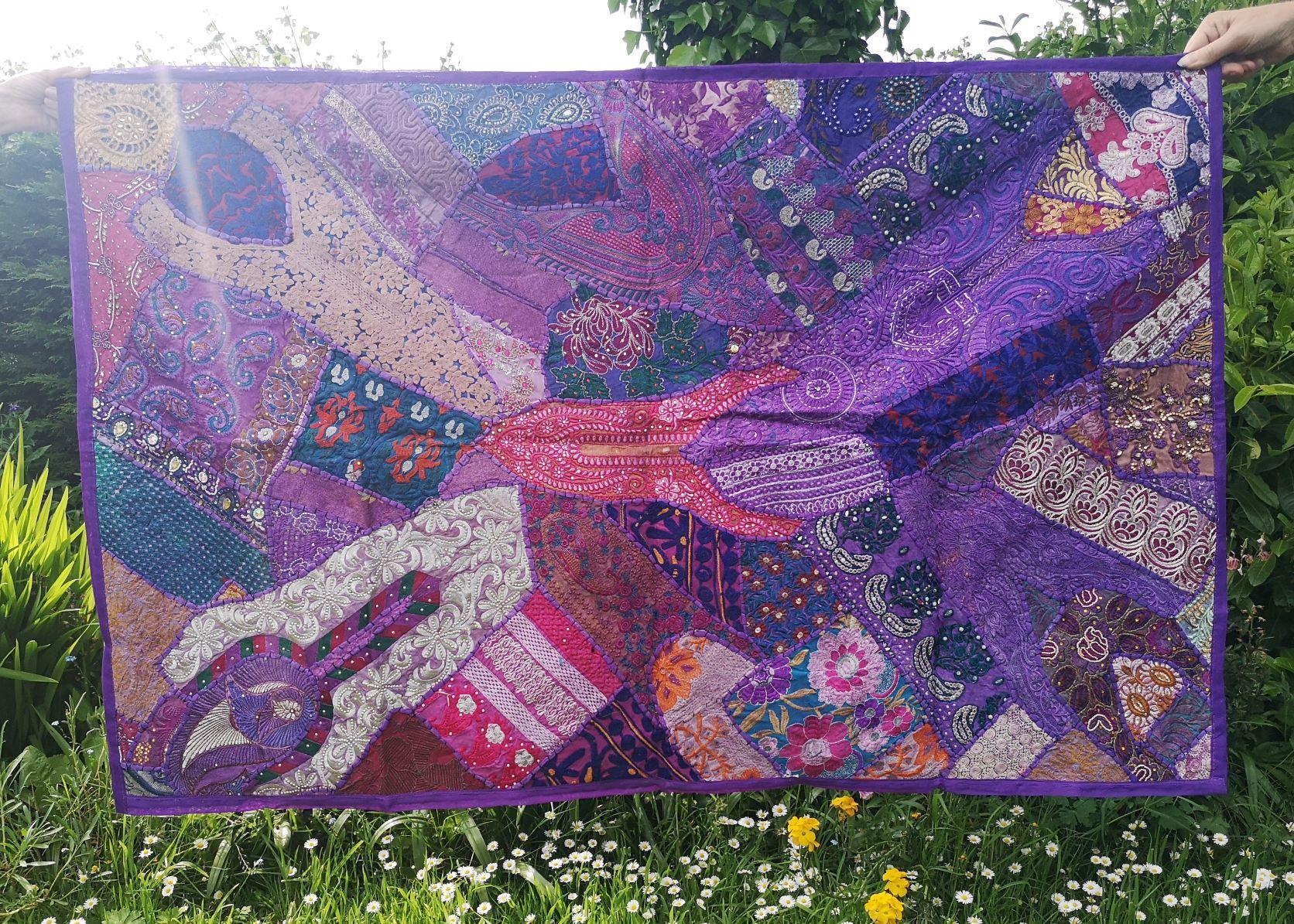 Large Wall Hanging Purple