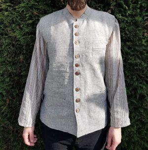 Nehru Grey