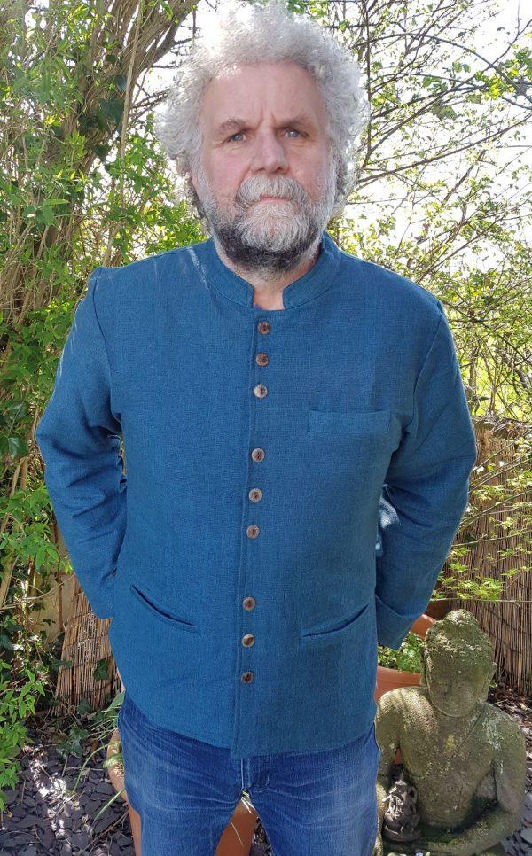 Nehru Jacket Blue