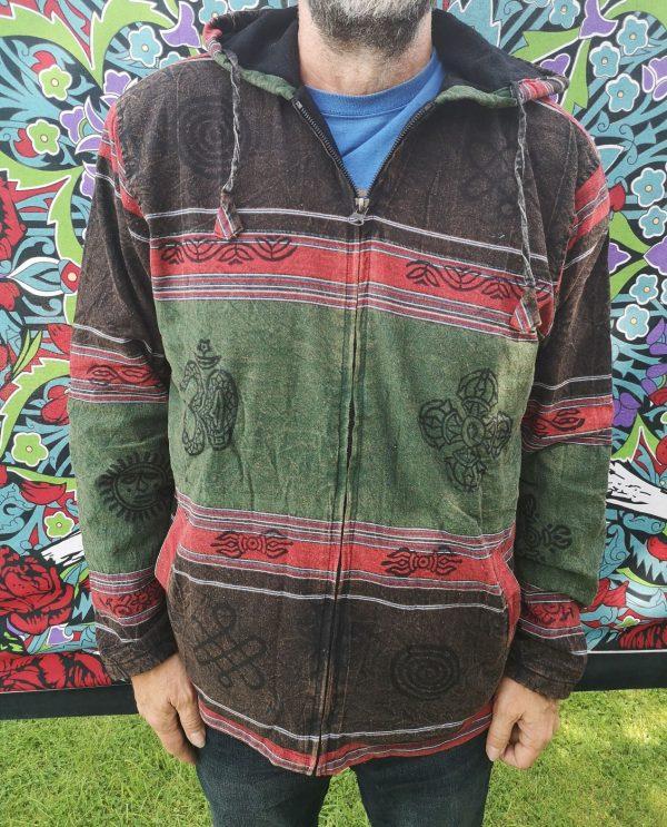 Stonewash Jacket Green