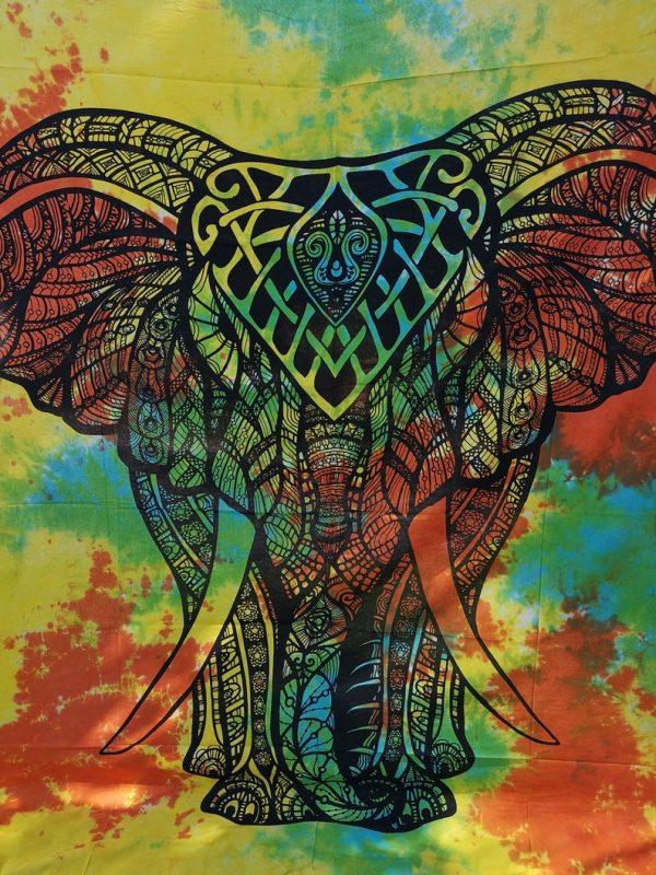 Elephant Throw Yellow