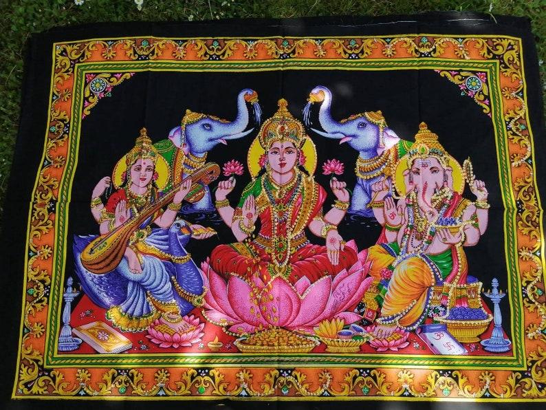 Sequin Lakshmi Tapestry