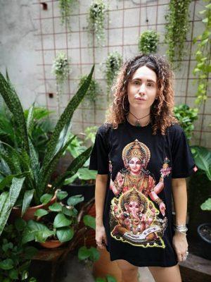 Hindu Ganesha + Parvati T-shirt