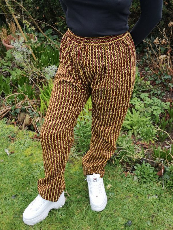 Aztec Trousers Yellow