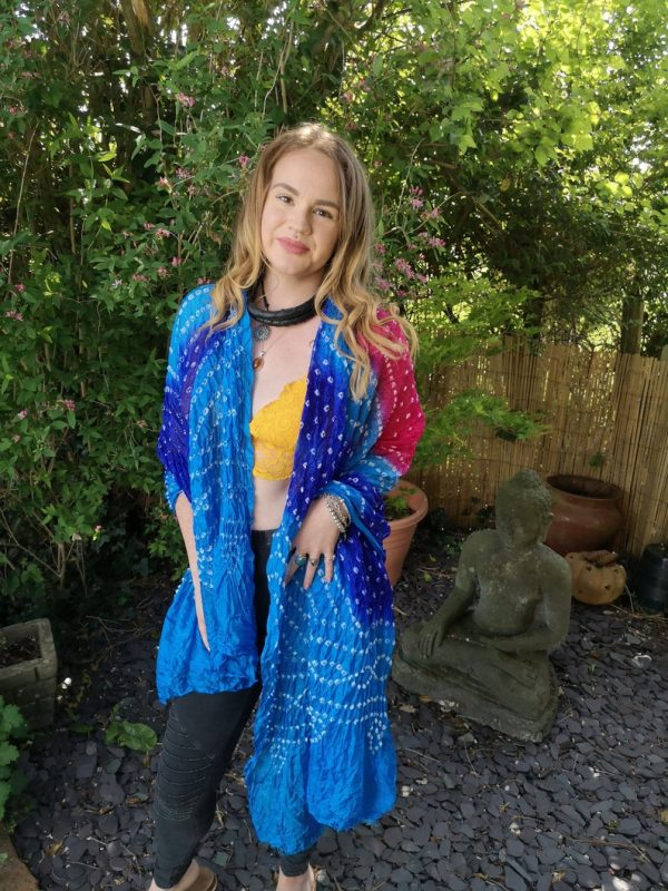 Indian Scarf Blue