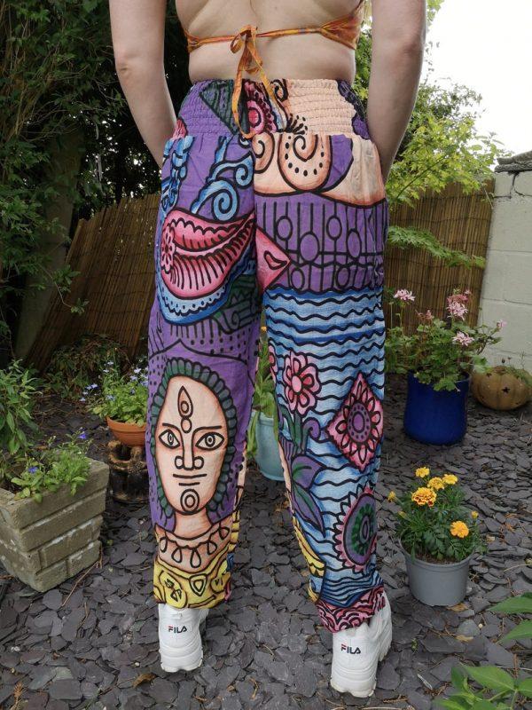 Crazy Festival Trousers Purple