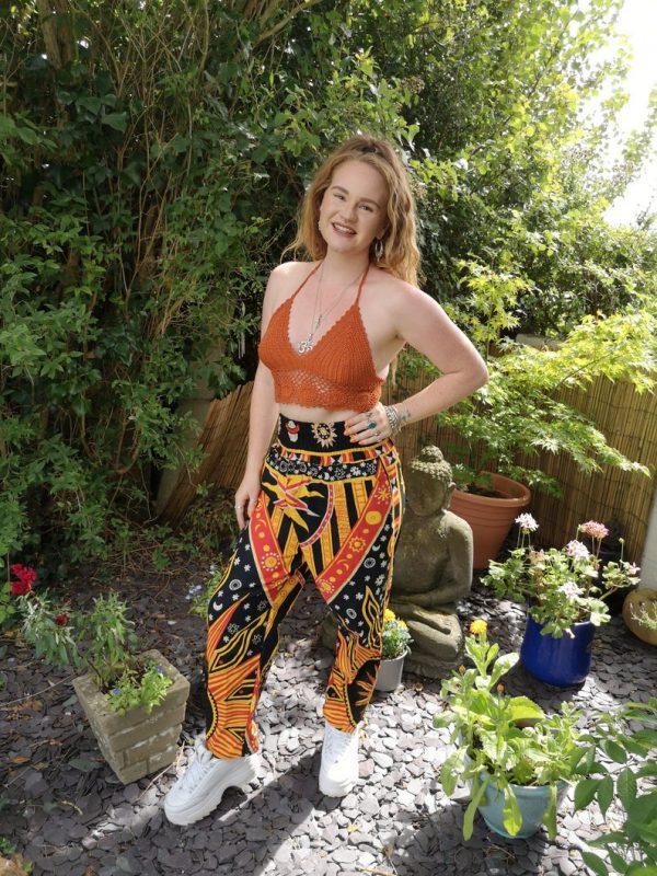 Celestial Trousers Orange