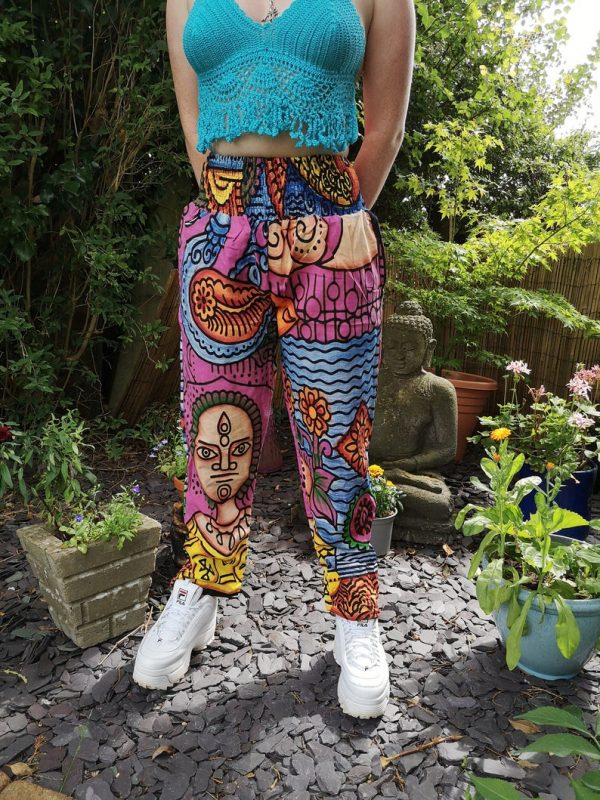Crazy Festival Trousers Pink