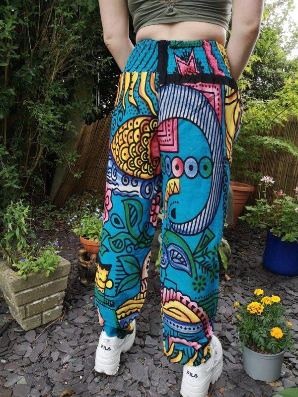 Crazy Festival Trousers Blue
