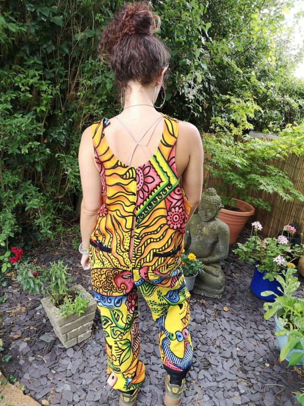 Colourful Funky Dungarees