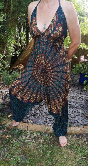Mandala Jumpsuit Green