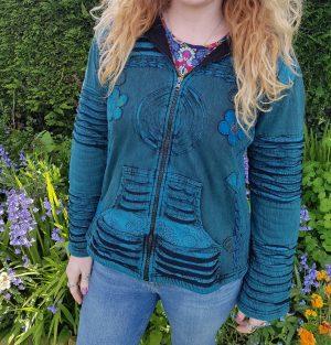 Floral Jacket Blue