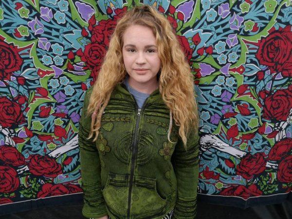 Floral Jacket Green