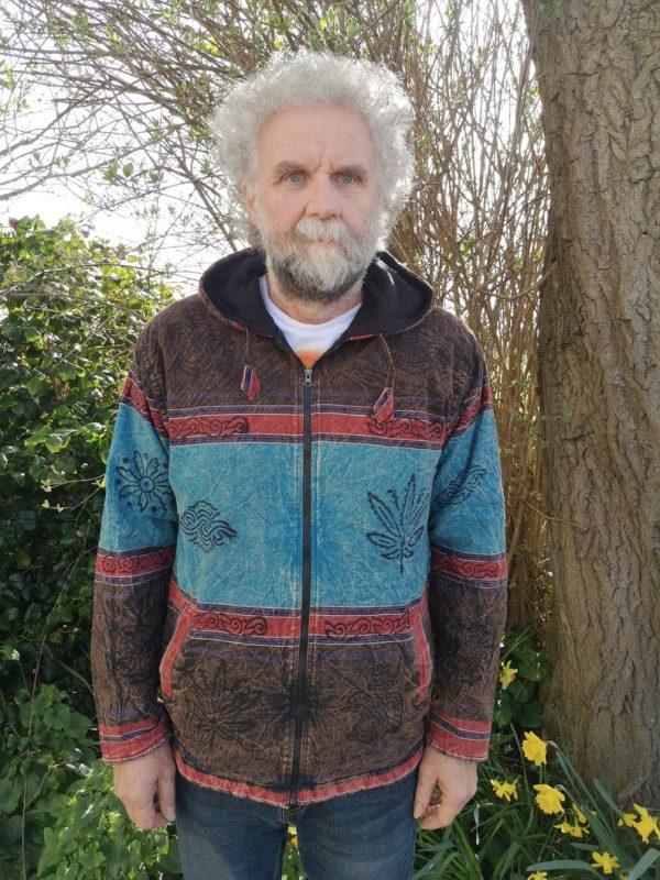 Stonewash Jacket Blue