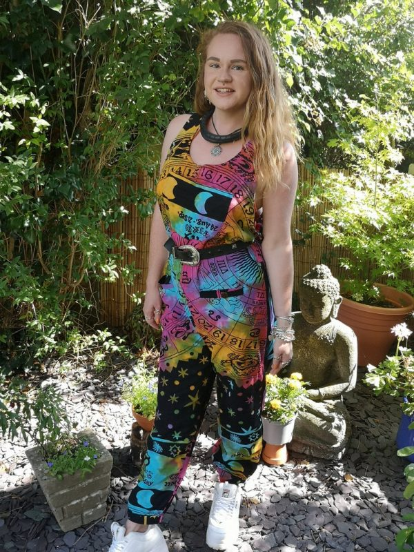 Colourful Astrology Dungarees