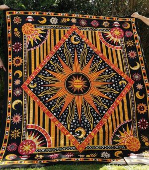 Celestial Throw Orange