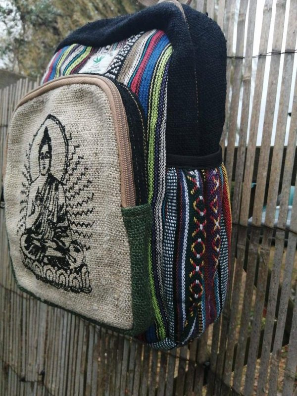 Hemp Backpack Buddha