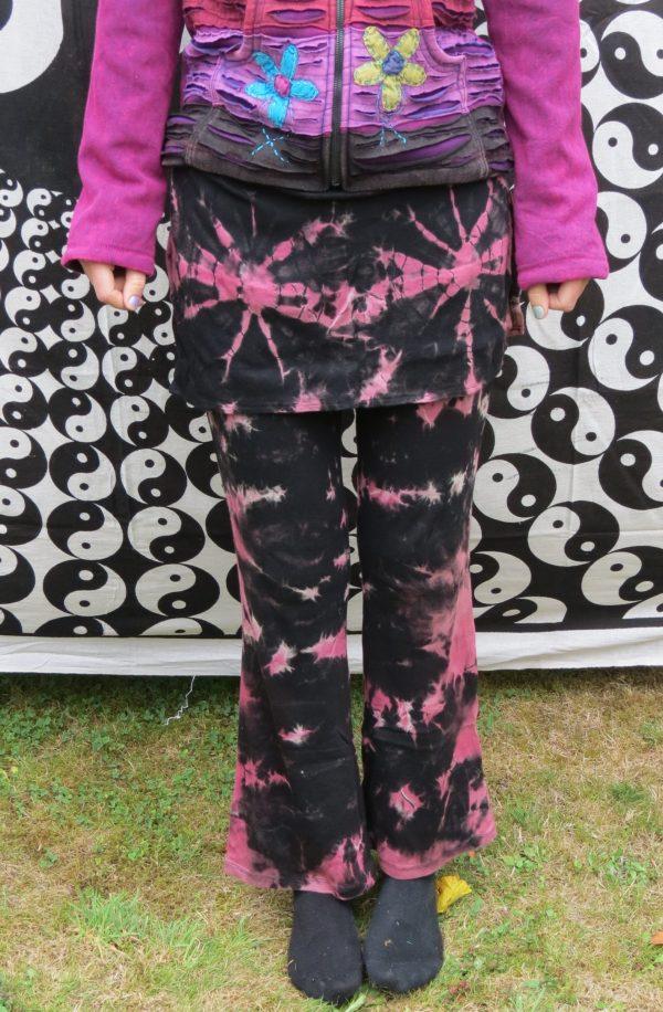 Tie Dye Leggings Pink