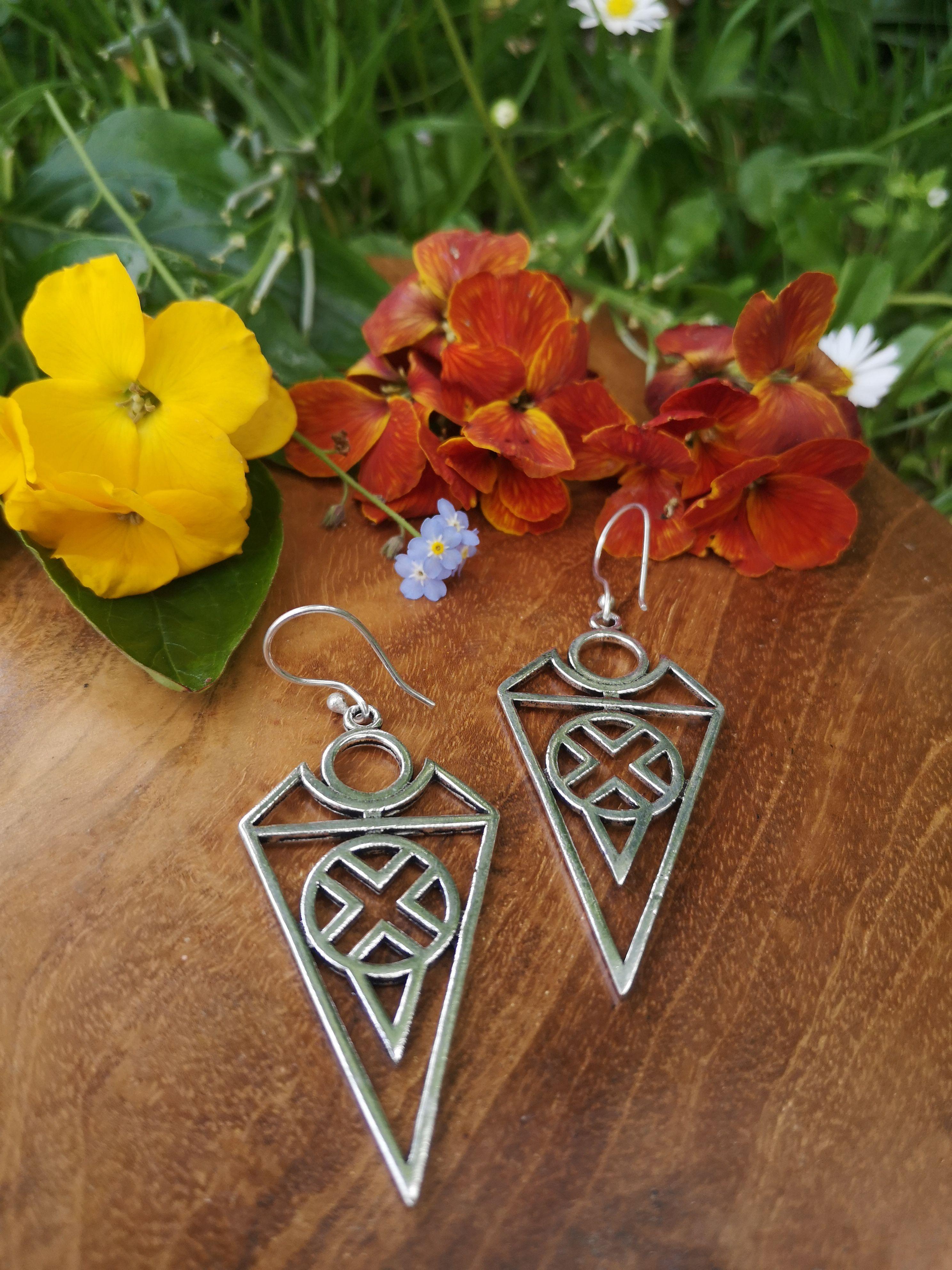 Priestess Earrings
