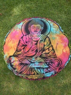 Meditation Cushion Cover Buddha