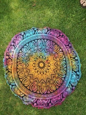 Meditation Cushion Cover Mandala