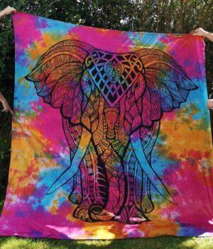Elephant Throw Pink