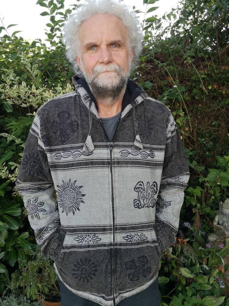 Stonewash Jacket Black/Grey