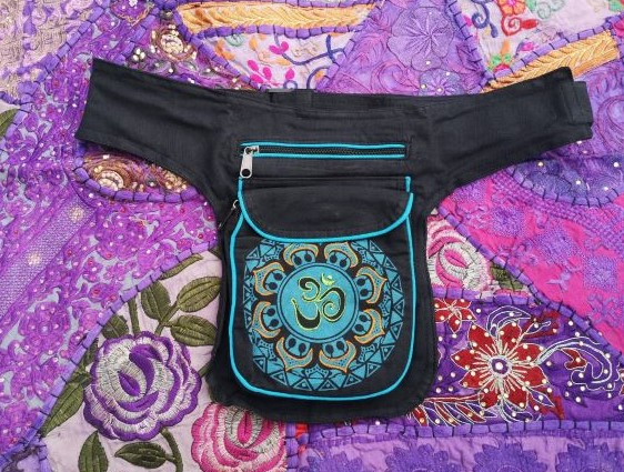 Om Pouch Bumbag Blue