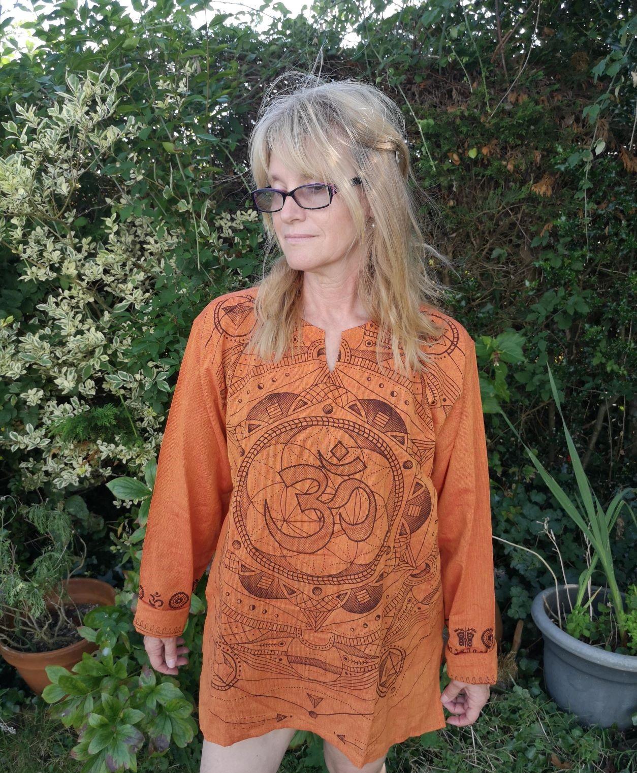 Om Shirt Orange